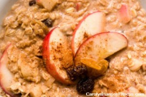 oatmeal apples